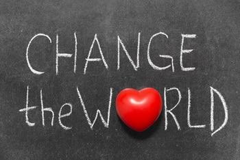לשנות את העולם? אני?