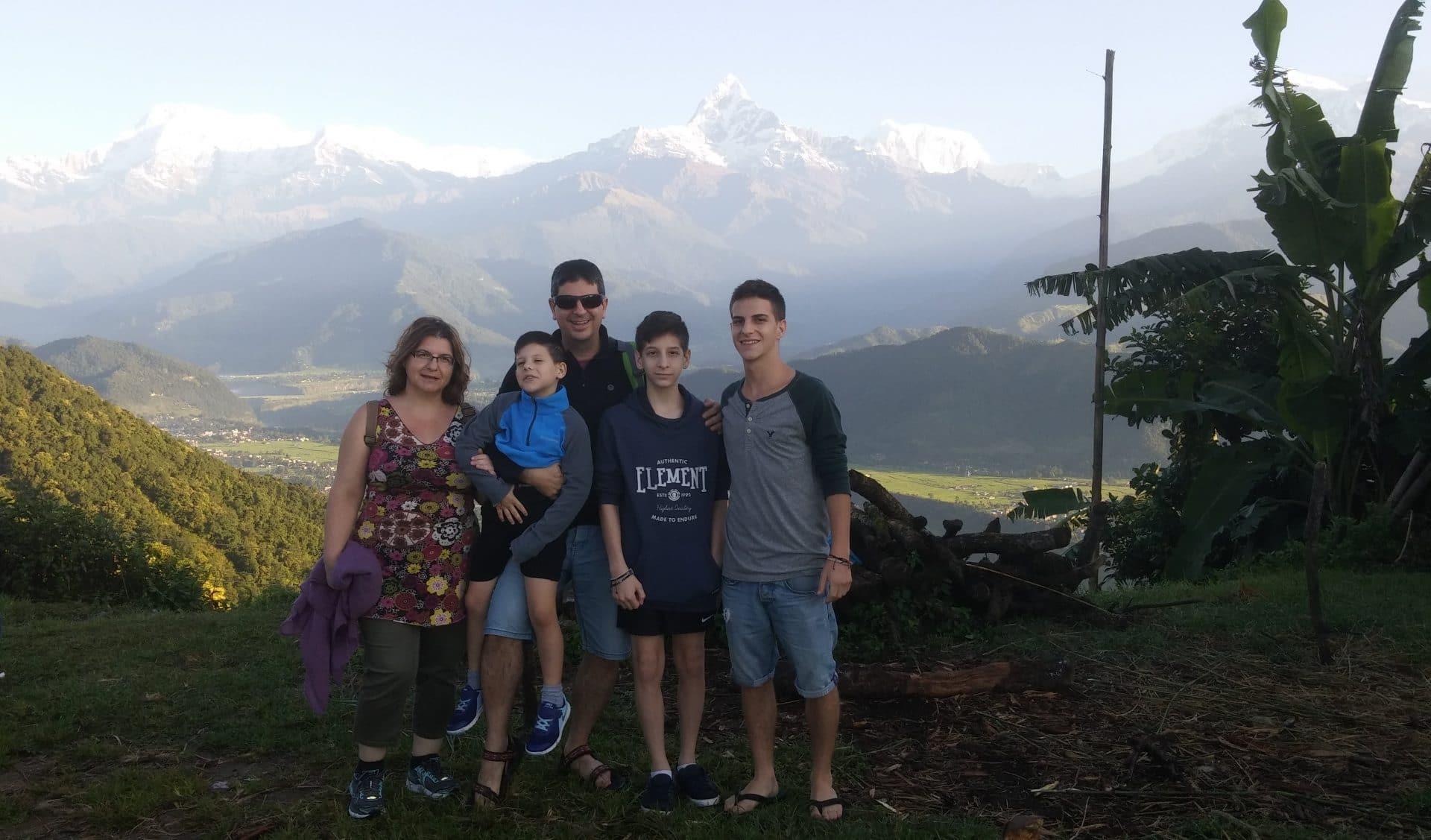 רכס הרי האנפורנה נפאל